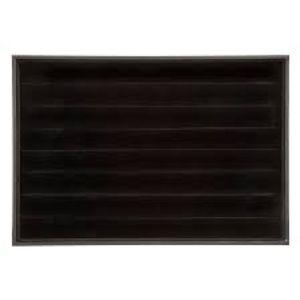 Darice Black Velvet Ring Display Tray
